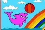 Colora il delfino