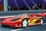 La tua potente auto da corsa