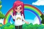 Ragazza arcobaleno
